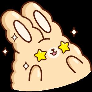 白花花大肥兔 messages sticker-6