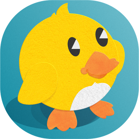 Duckling Duck messages sticker-0