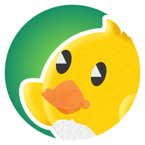 Duckling Duck messages sticker-7