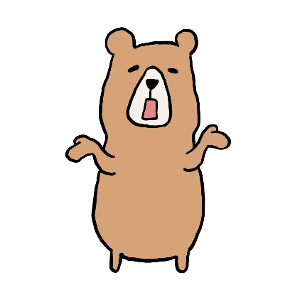 くまさんのステッカー kumasan sticker messages sticker-7