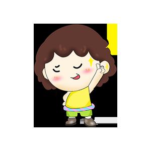 贴贴小宝AR messages sticker-6