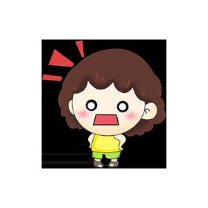 贴贴小宝AR messages sticker-2
