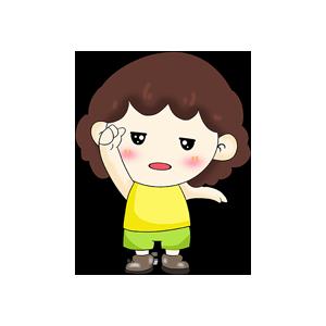 贴贴小宝AR messages sticker-5