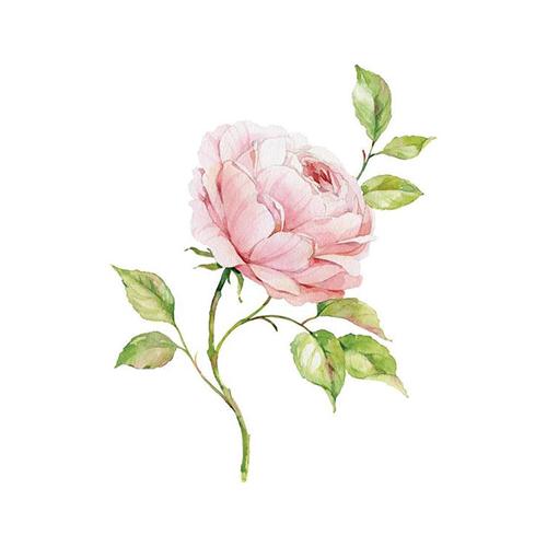 酷爱水墨花-Ink Flowers messages sticker-5