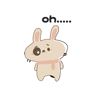 Stay Up Late Rabbit messages sticker-10