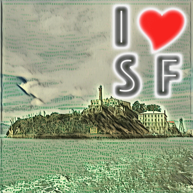 I Love San Francisco messages sticker-0