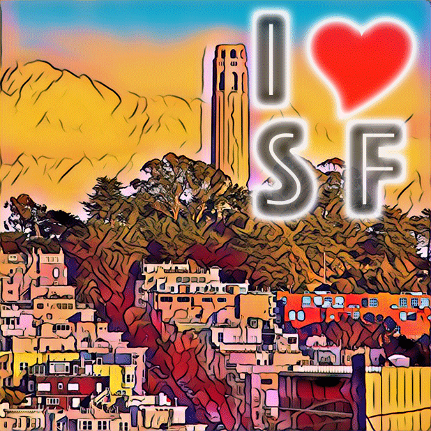 I Love San Francisco messages sticker-6