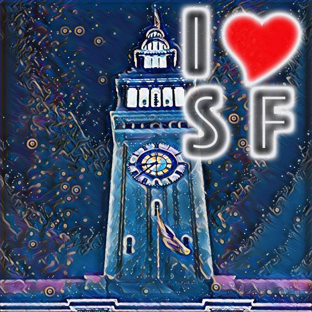 I Love San Francisco messages sticker-8