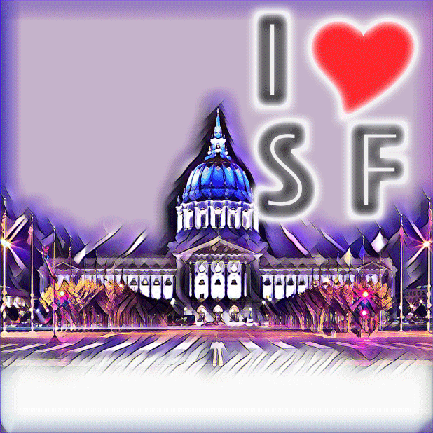 I Love San Francisco messages sticker-5