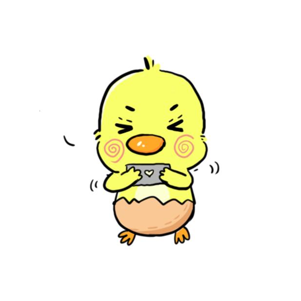 CW chicken world messages sticker-5