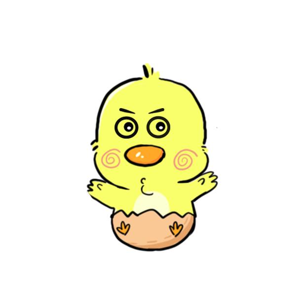 CW chicken world messages sticker-9