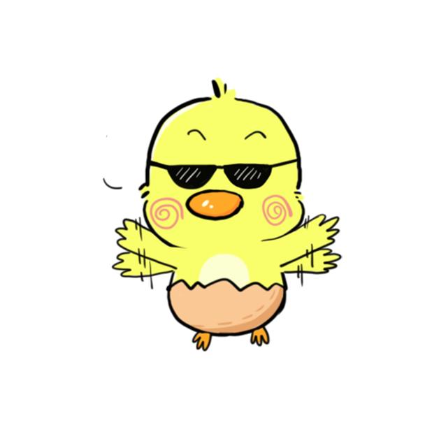 CW chicken world messages sticker-1