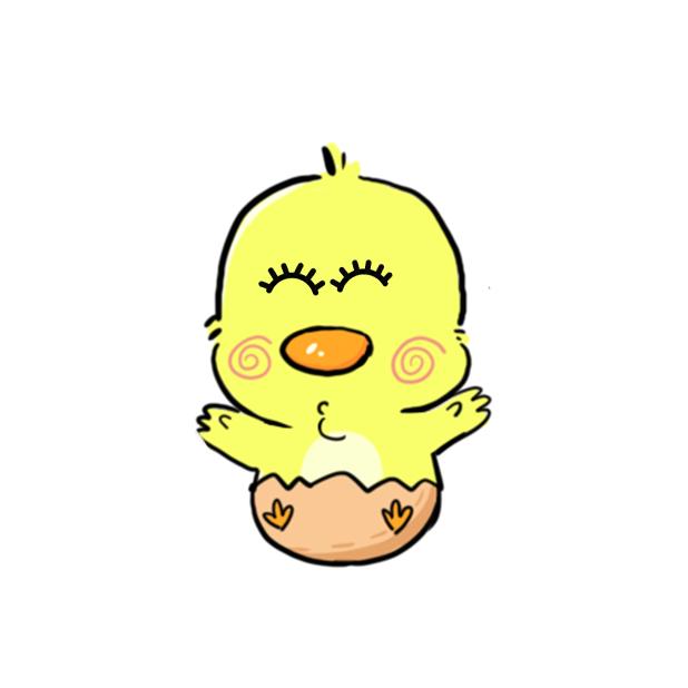 CW chicken world messages sticker-7