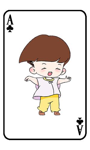 Card boy messages sticker-5