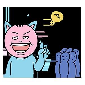 BlueCat爱算数 messages sticker-10
