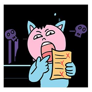 BlueCat爱算数 messages sticker-0