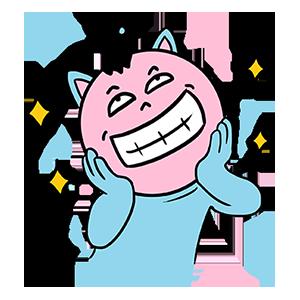 BlueCat爱算数 messages sticker-1