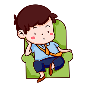 小学生贴纸 messages sticker-9