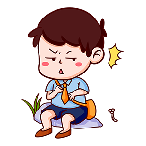 小学生贴纸 messages sticker-10
