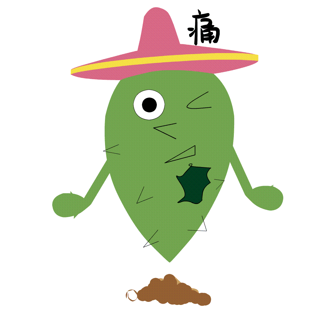 Funny Cactus messages sticker-2