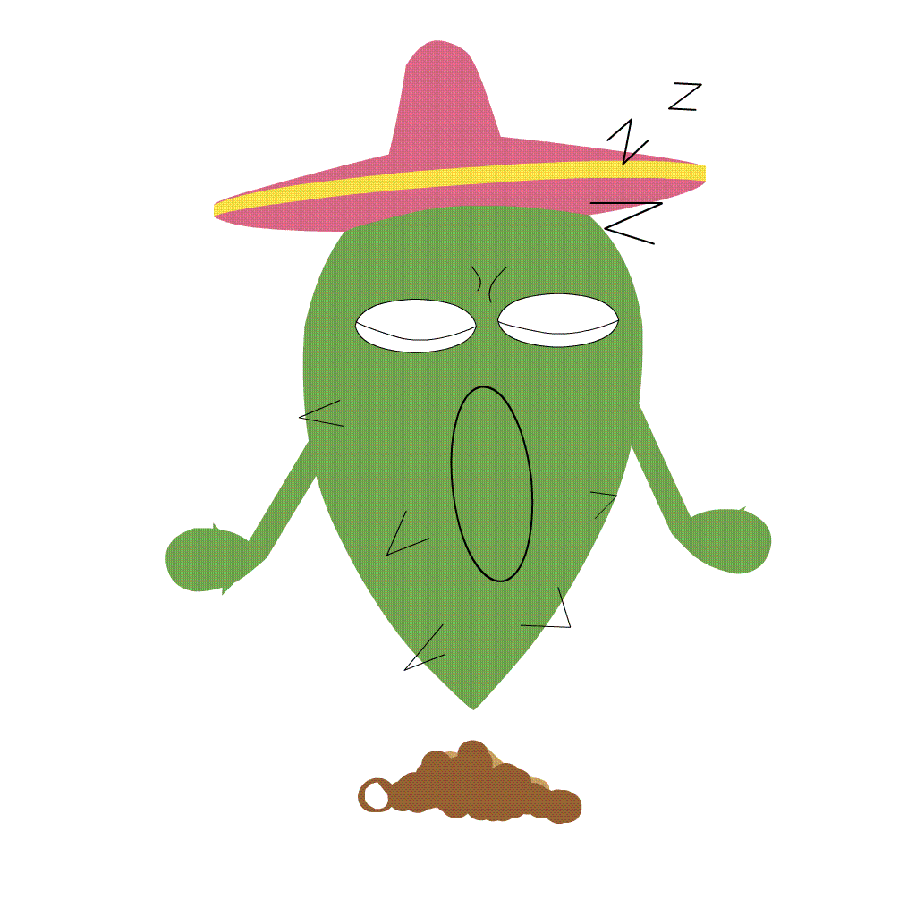 Funny Cactus messages sticker-3