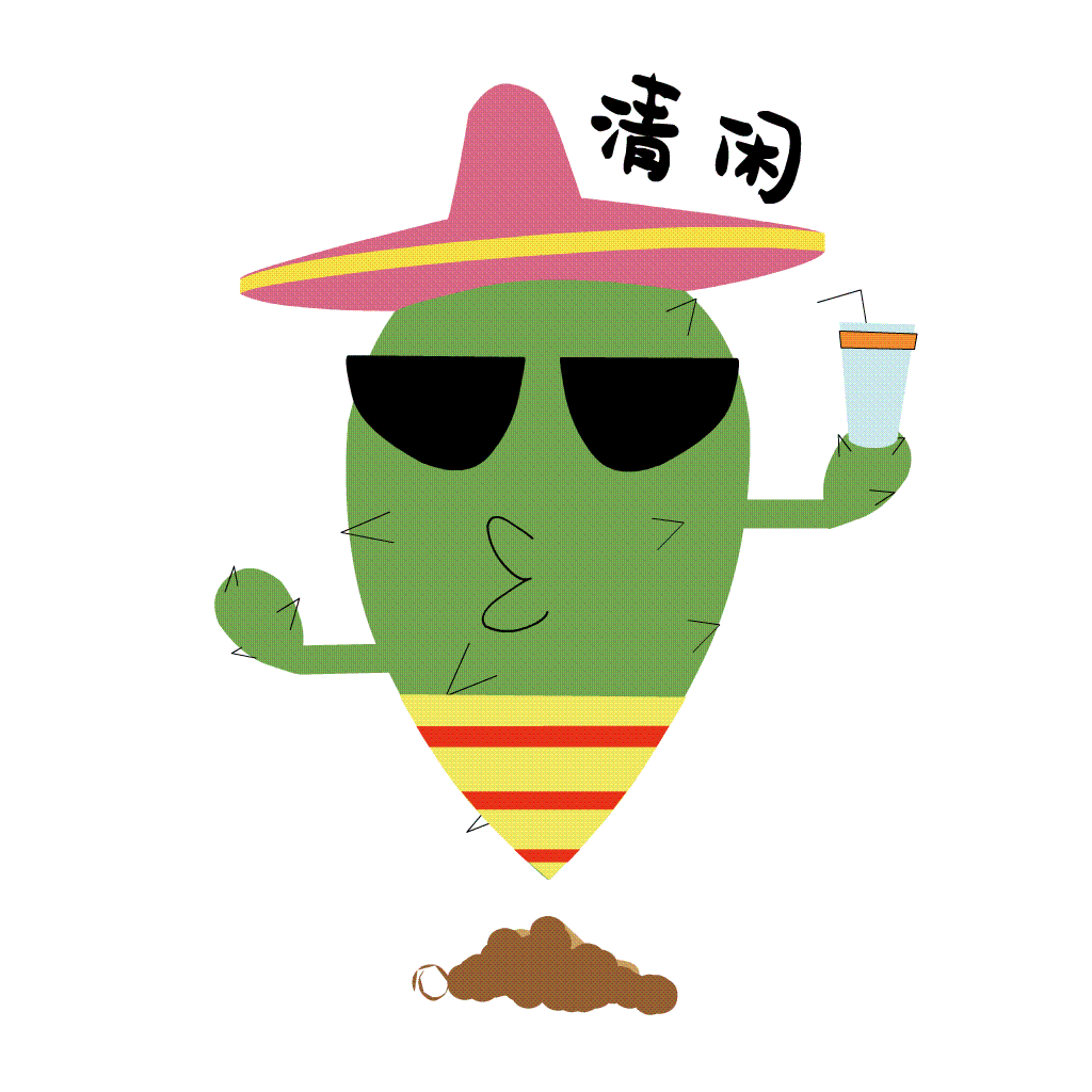 Funny Cactus messages sticker-11