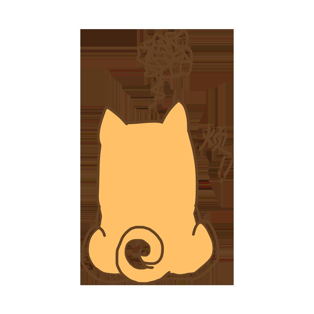 有只柴犬叫菠萝 messages sticker-5