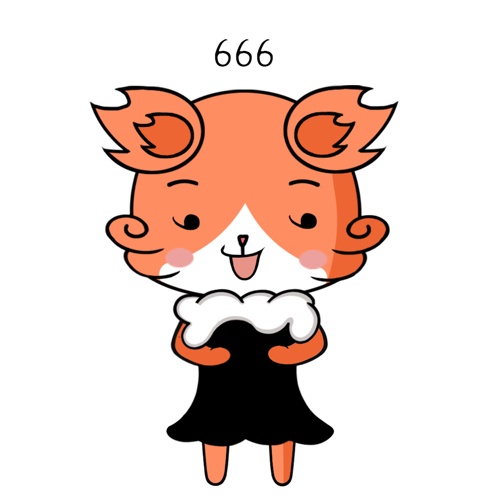 Beautiful Fox Lady messages sticker-9