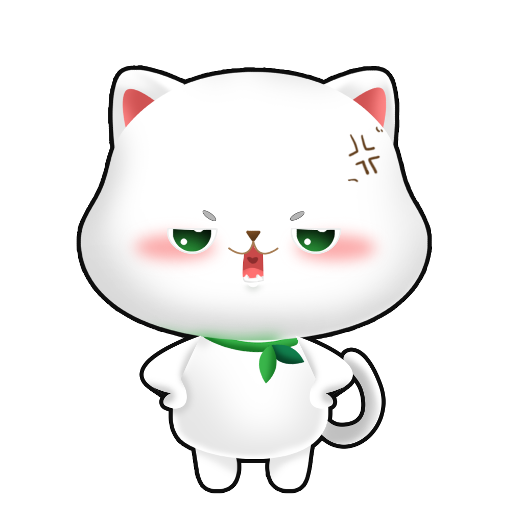 CatLittleWhite messages sticker-1