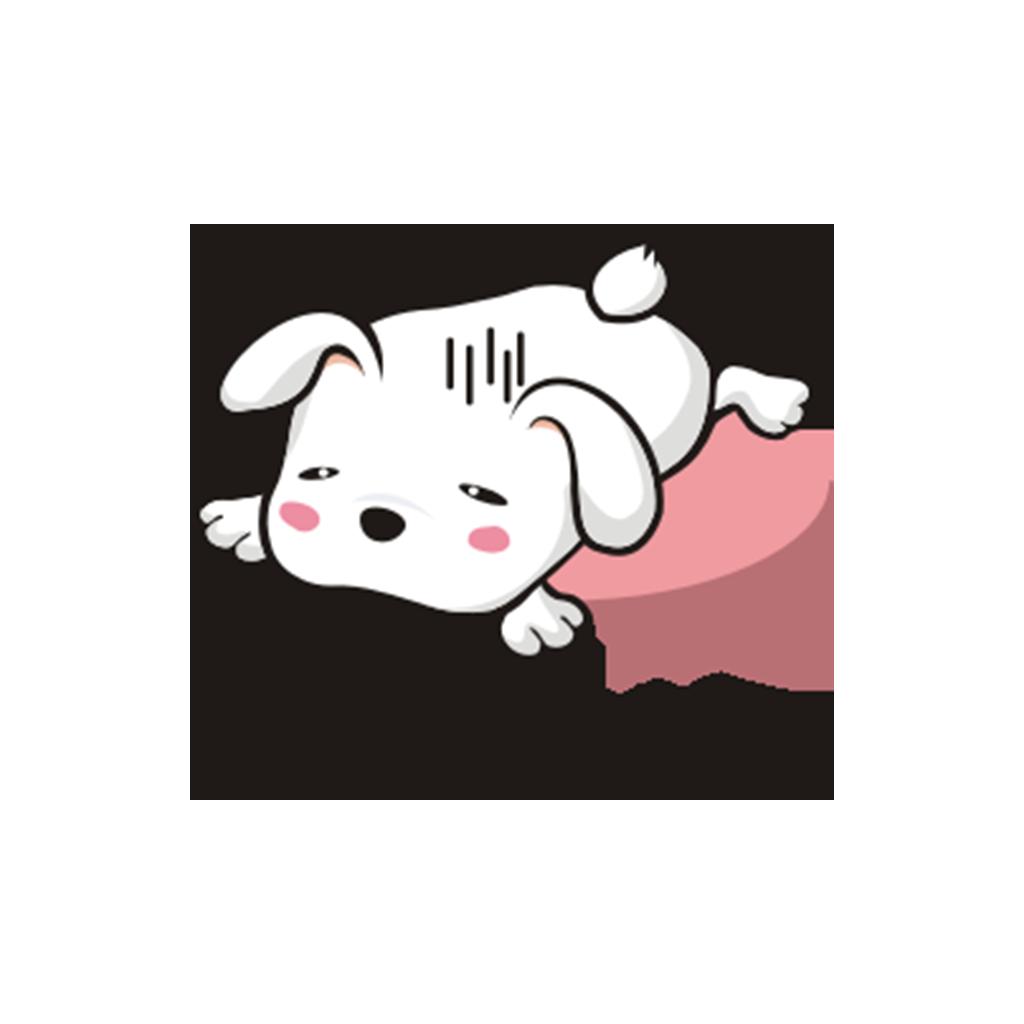兔子凹凹 messages sticker-11
