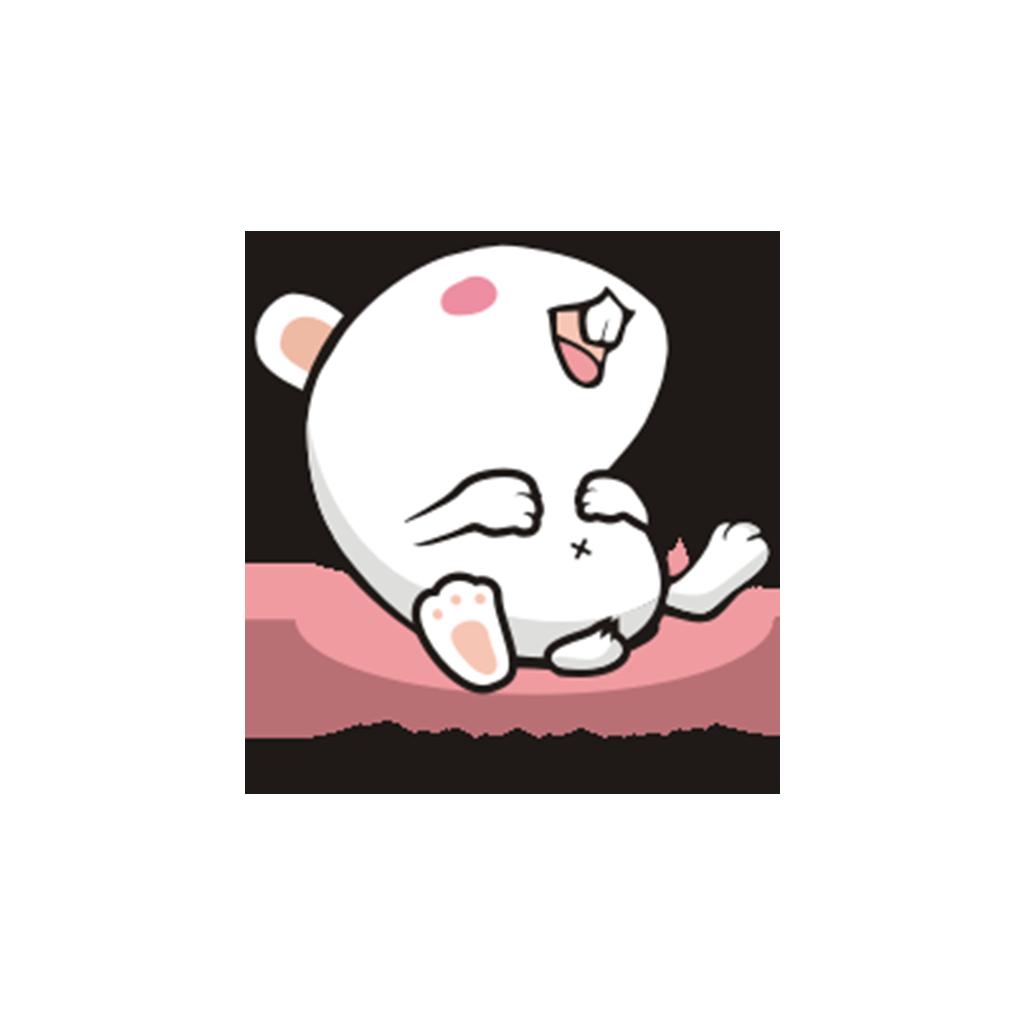 兔子凹凹 messages sticker-10