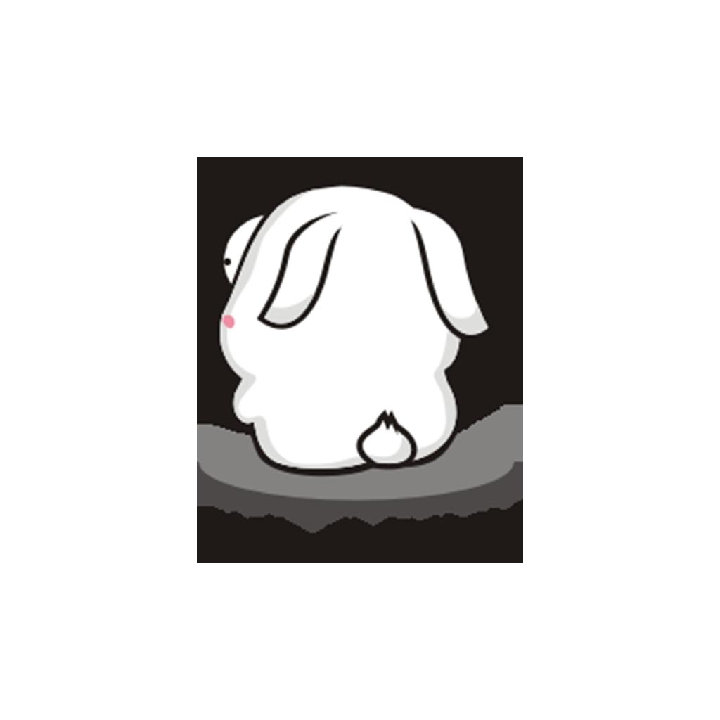 兔子凹凹 messages sticker-8