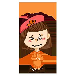 淘气Girl messages sticker-9