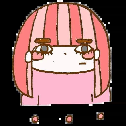 彩虹妹生活趣味贴纸 messages sticker-1