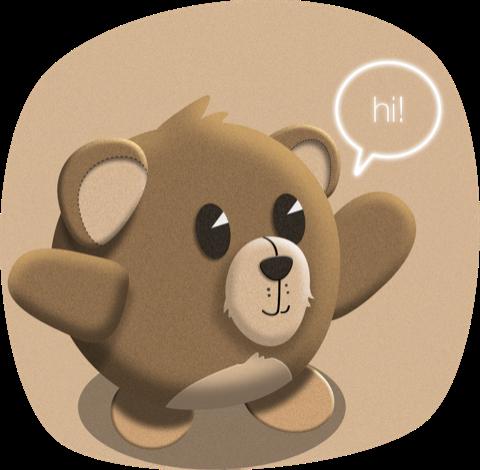 LittleTeddy messages sticker-1