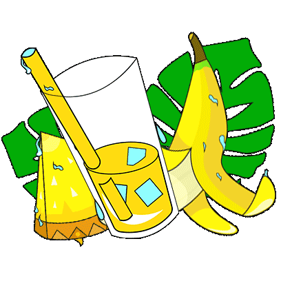Juissi going Bananas Stickers messages sticker-1