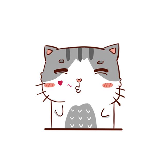 Hui Hui Cat messages sticker-2