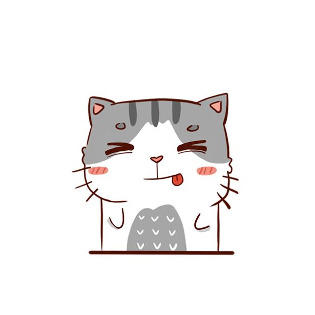 Hui Hui Cat messages sticker-3