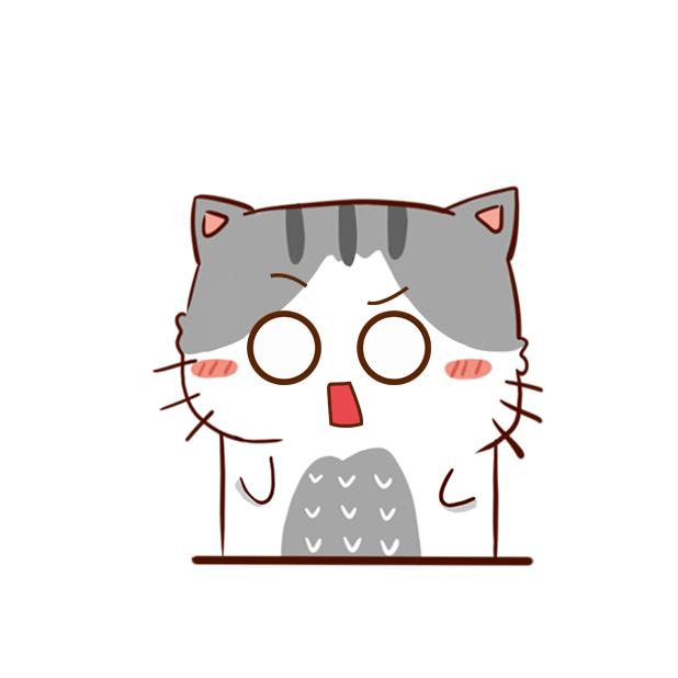 Hui Hui Cat messages sticker-9