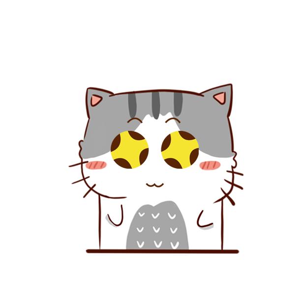 Hui Hui Cat messages sticker-11