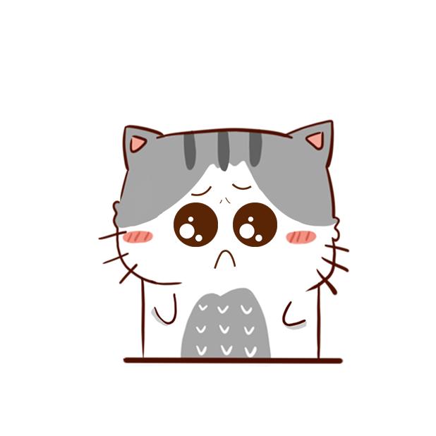 Hui Hui Cat messages sticker-7
