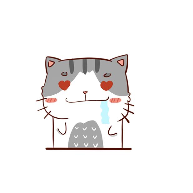Hui Hui Cat messages sticker-6