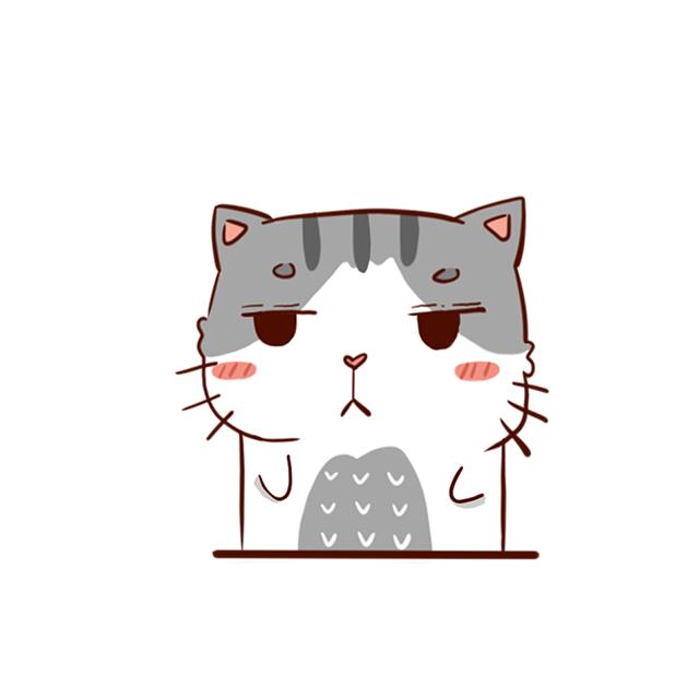 Hui Hui Cat messages sticker-1