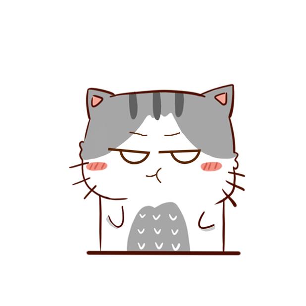 Hui Hui Cat messages sticker-8