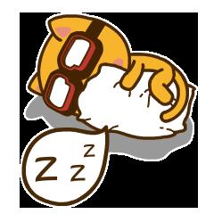 Little Handsome Cat messages sticker-10