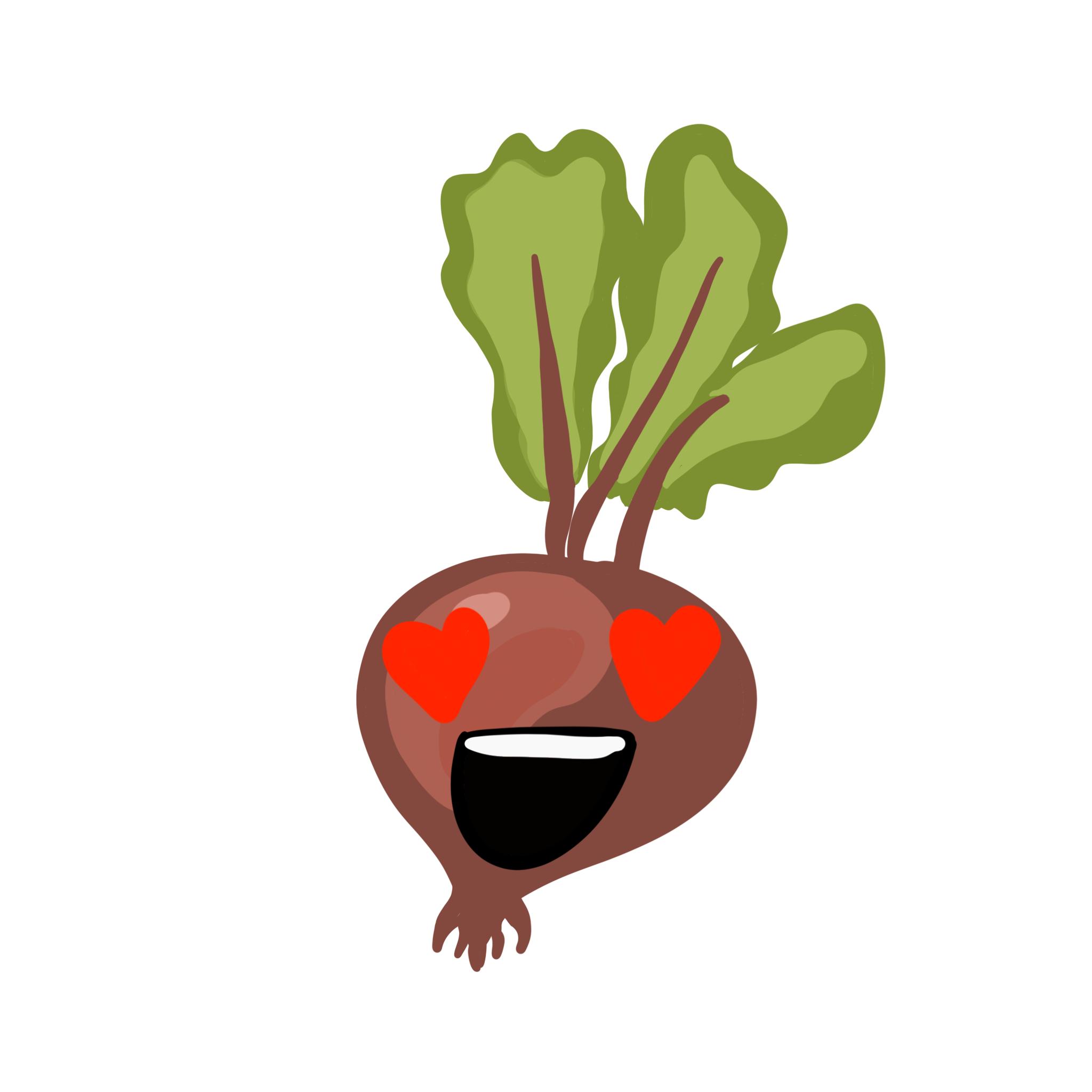 Veggies Stickers.NhiH messages sticker-9