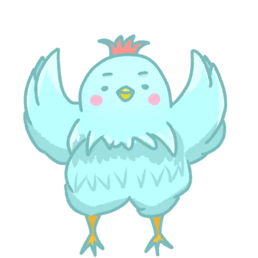 FatChicken-Sticker messages sticker-11