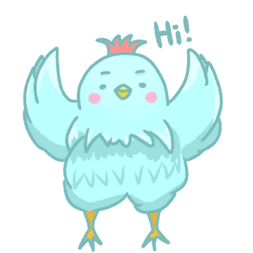 FatChicken-Sticker messages sticker-7