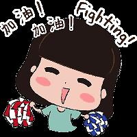 蘑菇头坏女孩 messages sticker-9