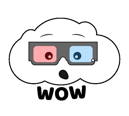 Cute Clouds messages sticker-1